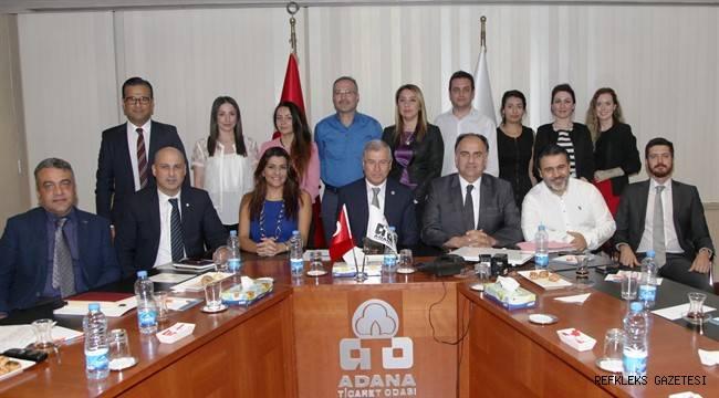Lübnan heyetinin ihracat mutluluğu