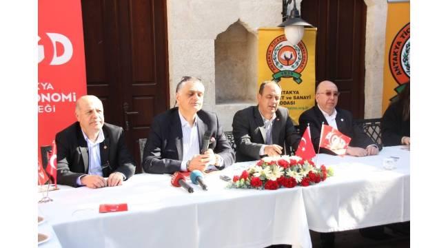 """""""Gastronomi Şehri Antakya"""" bilgilendirme toplantısı düzenlendi"""