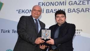 Refleks'e Ekonomi Basını Başarı Ödülü