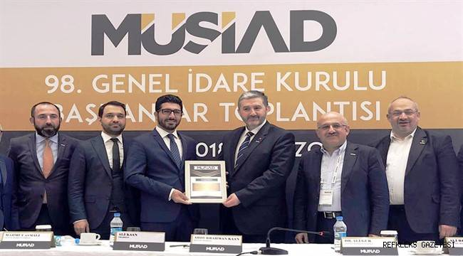 MÜSİAD Adana Şubesi şehrin en etkin iş dünyası STK'larından biri