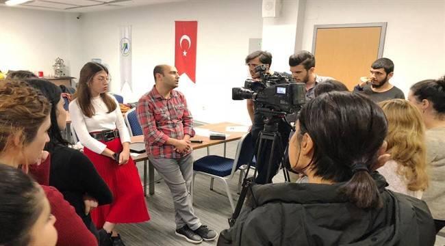 Yeni Nesil Gazeteciler iş başında