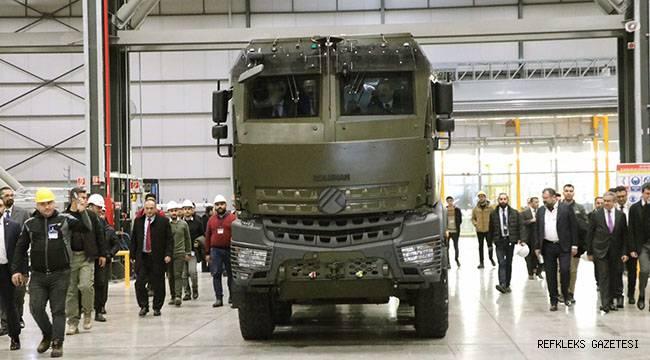 Zırhlı araç Mersin'de test edildi