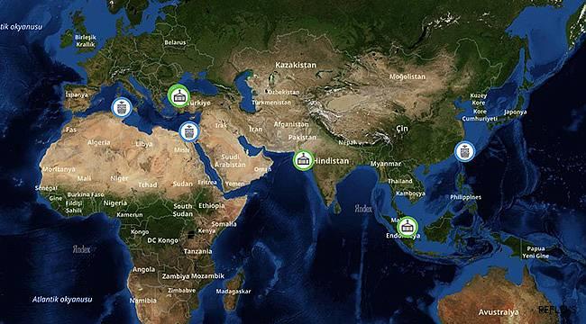 Dış ticaretçilerin gözü bu haritada