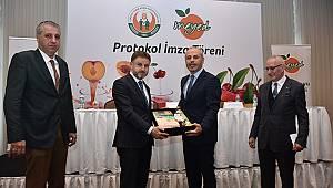 Meyve alımı için protokol imzalandı