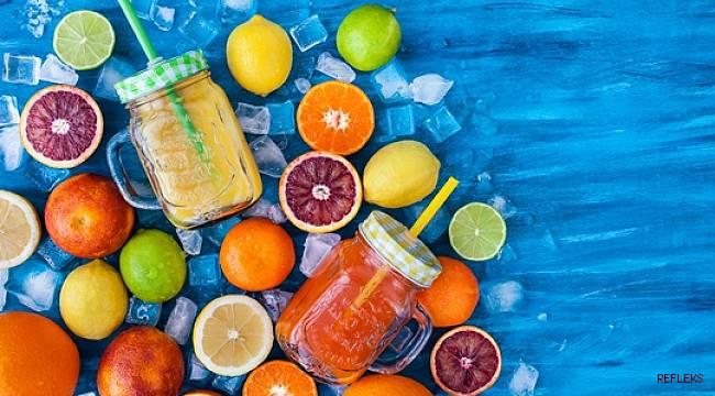 Portakallı limonata içmek iyi geliyor
