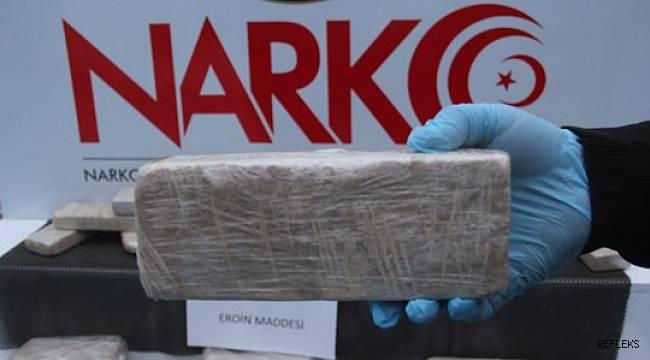 Adana'da 19 kilo 450 gram eroin ele geçirildi