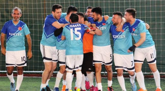 AOSB futbol turnuvasında heyecan devam ediyor