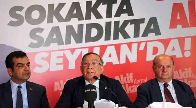 CHP'li Akay Seyhan'da fark yaratmakta kararlı