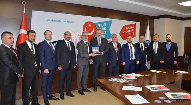 Moldova'nın Ankara Büyükelçisi İskenderun'da