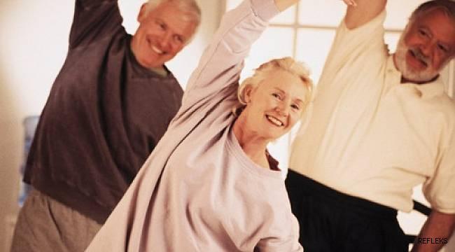 Sağlıklı yaş almanın sırrı: Düzenli hareket