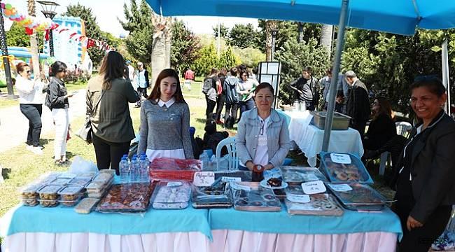 Çocuk Festivali'nde yöresel lezzetler standı