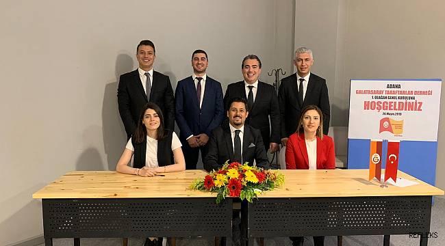 Galatasaray'ın Adana'da resmi taraftar derneği kuruldu