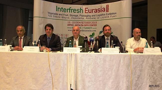 Antalya Interfresh Eurasia Fuarının tanıtımı Mersin'de yapıldı