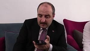 Bakan Varank'tan Kıvanç'a Temsa telefonu