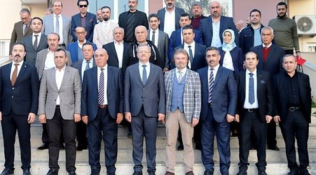 Iraklı yatırımcılar MTOSB'de yatırım olanaklarını değerlendirdi