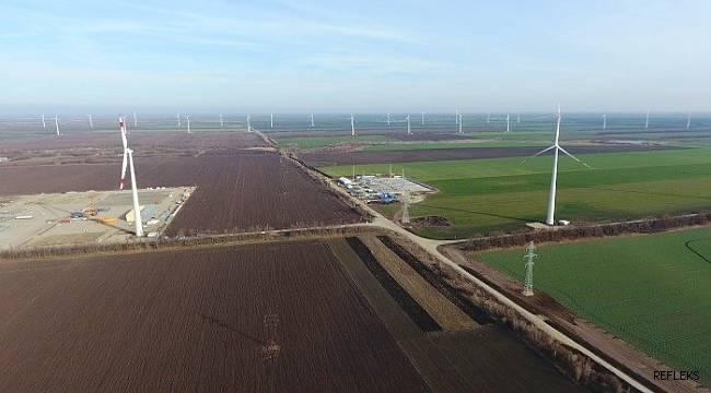 Rosatom'un rüzgar santrali elektrik üretmeye hazır