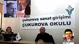 Yazarlarevi Çukurova Okulu'nda 'Yusuf Atılgan' söyleşisi