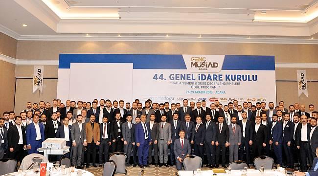 Genç MÜSİAD'a 'Adana'ya yatırım yapın' çağrısı