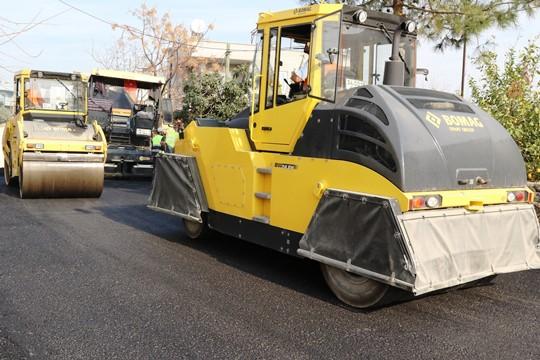 Akdeniz'de yeni dönem asfalt çalışmaları başladı