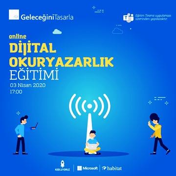 'Geleceğini Tasarla' eğitimleri dijitale taşınıyor