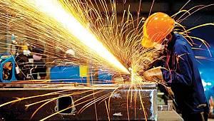 Sanayi üretimi aylık yüzde 17,4 arttı