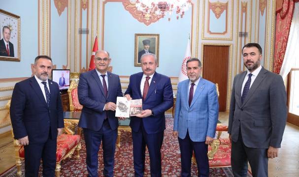 TBMM Başkanı Mustafa Şentop Pozantı Kongresi için geliyor