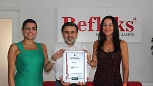 Refleks'e '10 yıllık marka' belgesi