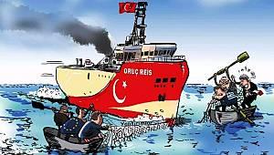 'Doğu Akdeniz'i yazdı