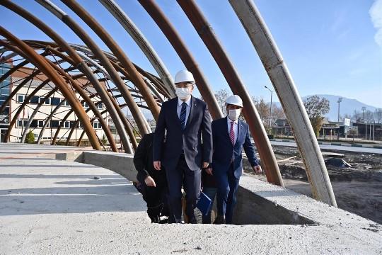 Osmaniye'ye fıstık görünümlü yer fıstığı müzesi yapılıyor