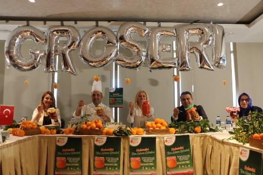 En güzel portakal reçelini yapmak için yarıştılar