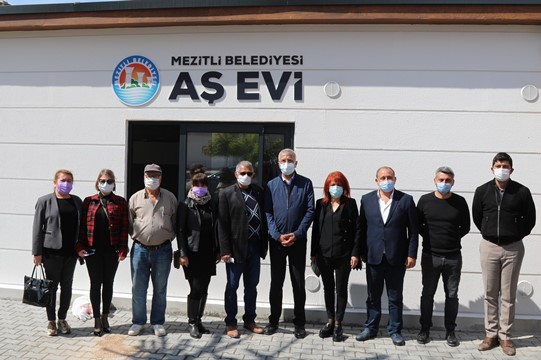Mezitli Belediyesi Aşevi yeni yerine taşındı
