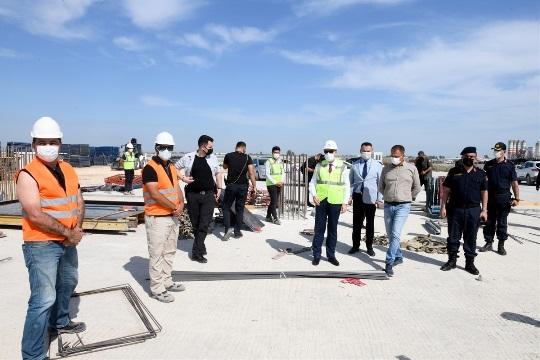 Vali Su, Çukurova Bölgesel Havalimanında incelemelerde bulundu