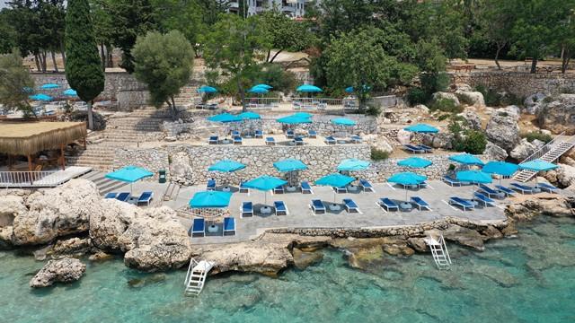 Mersin plajları sezona hazır